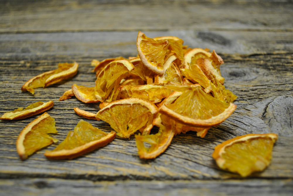 Dehydrated orange