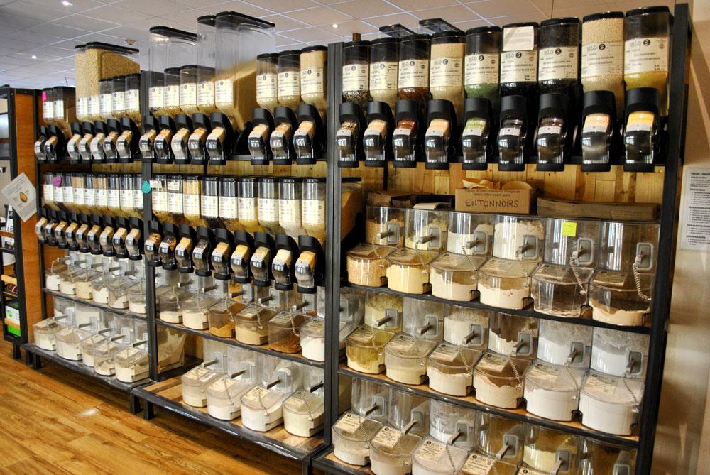 Le Silo : Épicerie bio vrac Sherbrooke