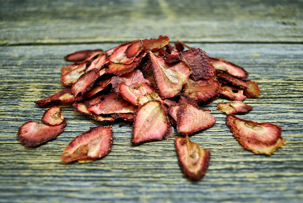 Dehydrated strawberries (slices)