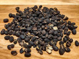 Haricots noirs déshydratés