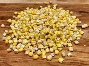 Maïs déshydraté