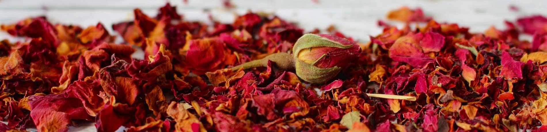 Fleurs comestibles séchées