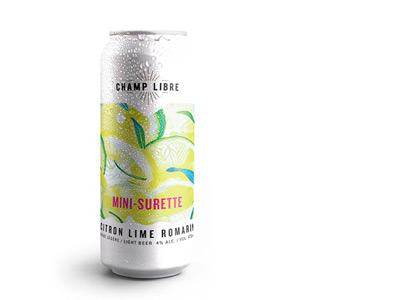 Mini-surette - Brewery distillery Champ Libre
